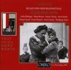 Hofmannsthal Krauss Horbiger Reinhardt - Jedermann CD