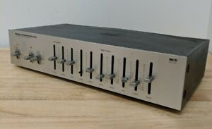 MCS Vintage Stereo Graphic Equalizer  Model 683-3030 *CUT CORD*
