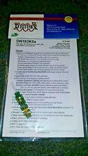 Digitrax DN163K0A 6 Function N Scale Decoder Kato P-42 PA E8 Etc