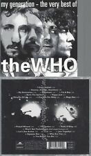 CD--THE WHO--MY GENERATION - THE VERY BEST OF