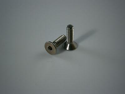 Breech Brake Grub Screws 2 Stainless or Black for Crosman 2240 1377 etc Band