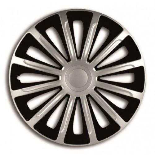 "13/"" 13 Inch Car Wheel Trims Covers Black FORD FIESTA 09-11 Silver"
