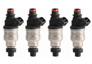 Details about 550cc Fuel Injectors Fit Honda OBD1 OBD2 B16 B18 B20 D15 D16  D18 F22 H22 w/clips