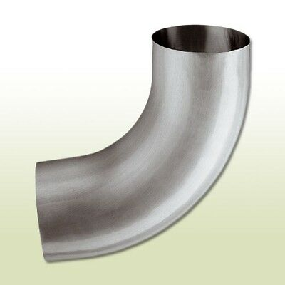 Baustoffe & Holz Aluminium Fallrohrbogen Dn 60/85 Grad Feine Verarbeitung