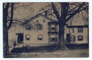 Blair-Academy-South-Cottage-ATLANTIC-CITY-NJ-Vintage-New-Jersey-Postcard