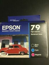 2018//2019 6-Pack Genuine Epson T079120 79 Ink for Artisan Stylus Photo 1400
