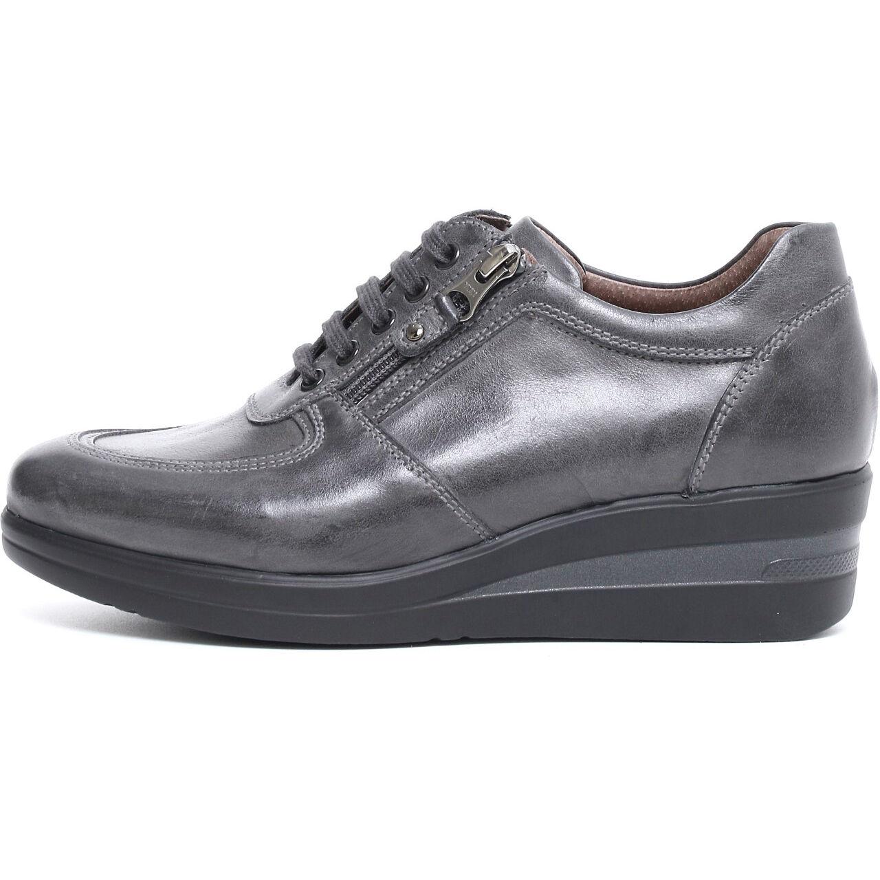 Zapatos promocionales para hombres y mujeres Sneaker scarpa sportiva Nerogiardini A719203D NUOVA COLLEZIONE 2017 zip