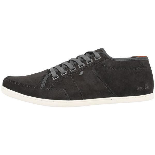 Boxfresh Sparko Ug Cerato Suede Scarpe Sneaker Ombra Scura Cromo Giallo E14606 | Ha una lunga reputazione  | Scolaro/Ragazze Scarpa