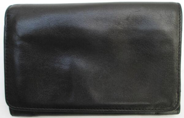 -authentique Portefeuille-porte-monnaie ClÉo Cuir Tbeg Vintage