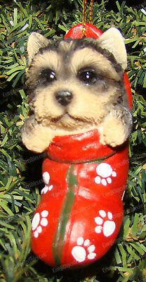 Yorkshire Terrier Pedigree Collection, 12013 Yorkie Stocking Ornament