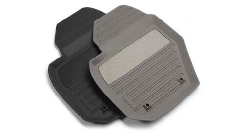 Satz schwarze Gummifußmatten Gummimatten Fußmatten Volvo XC 60 original 39822905