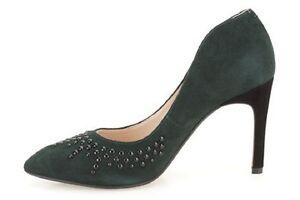 2d721770305f Image is loading New-Clarks-Women-Dark-Green-Suede-Azizi-Verdi-