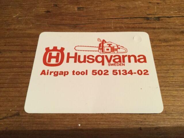 Genuine Husqvarna 502513402 Air Gap Feeler Gauge Flywheel ignition