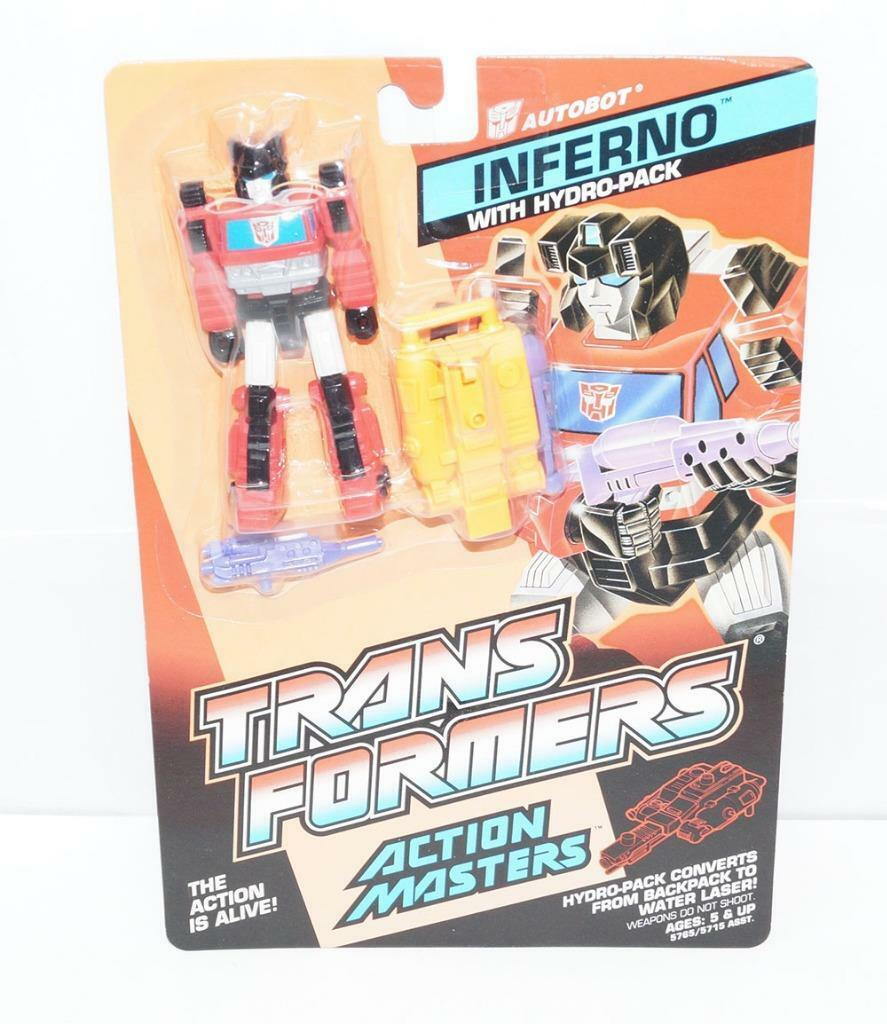 Inferno MOSC Sealed New 1989 Vintage G1 Transformers Action Figure Master