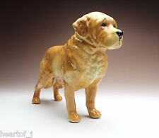 Golden Retriever Dog Drum Kit Ceramic Figurine Animal Statue SMC028R-3