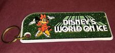 Disney's world on ice keychain minnie mouse