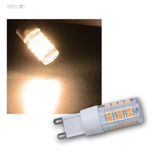 G9 LED Stifsockel Lampadina Bianco Caldo 400lm Dimmerabile 230V/4W Lampadina