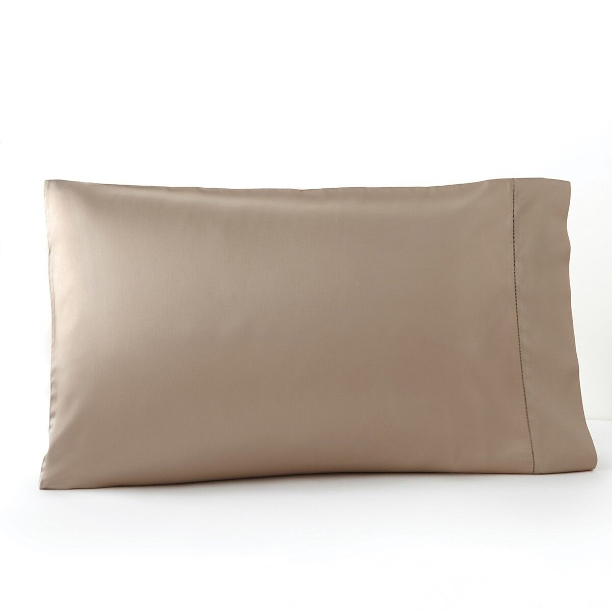 NEW SFERRA Giotto Egyptian Cotton STANDARD Pillowcases Dark Khaki  195 G1188