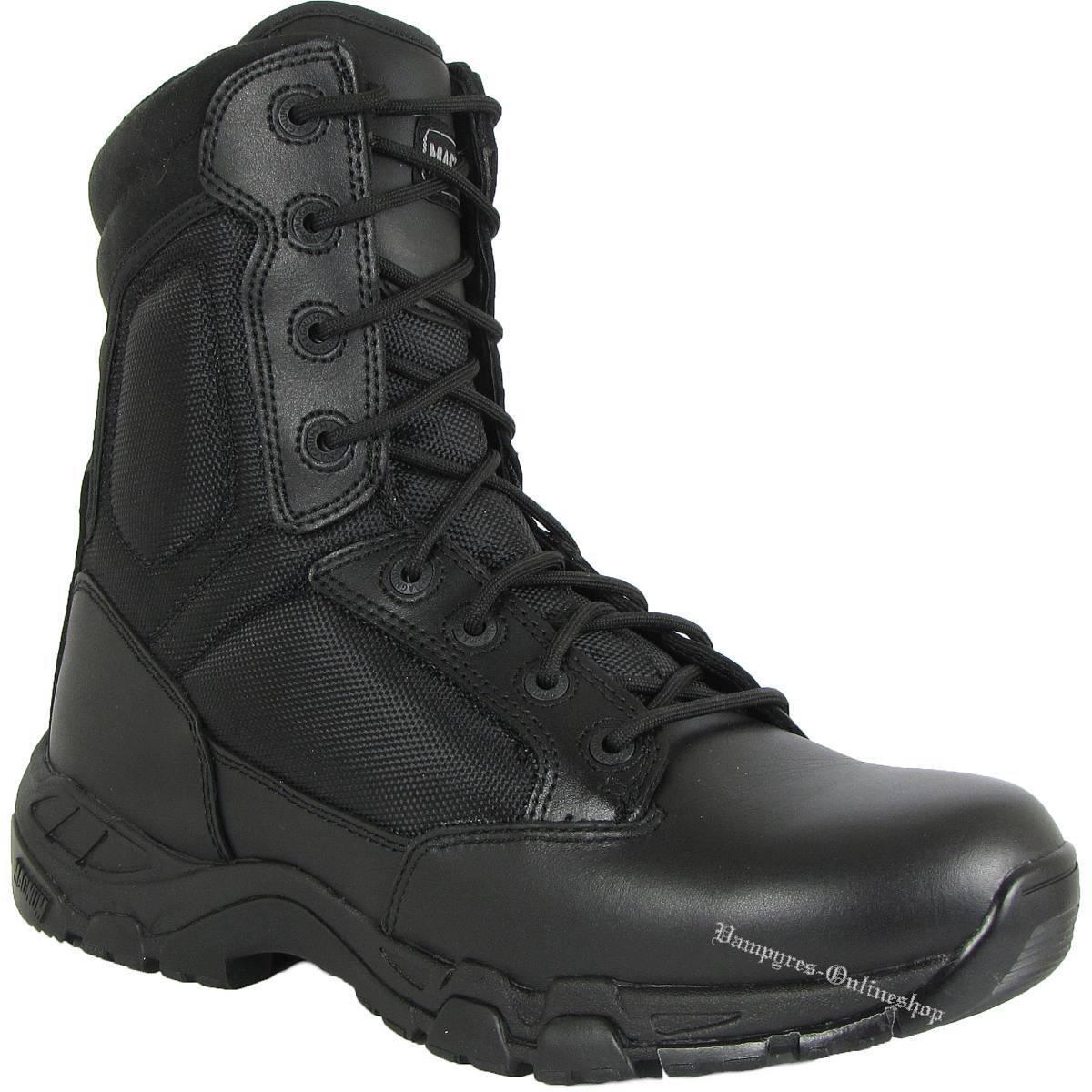 Hi-Tec Magnum Viper pro 8.0 8.0 8.0 SZ side ZIP zapatos HITEC Security botas negro  tienda de venta