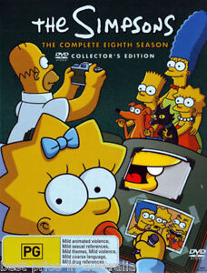 The-SIMPSONS-The-COMPLETE-Season-8-DVD-TV-SERIES-BRAND-NEW-4-DISCS-BOX-SET-R4