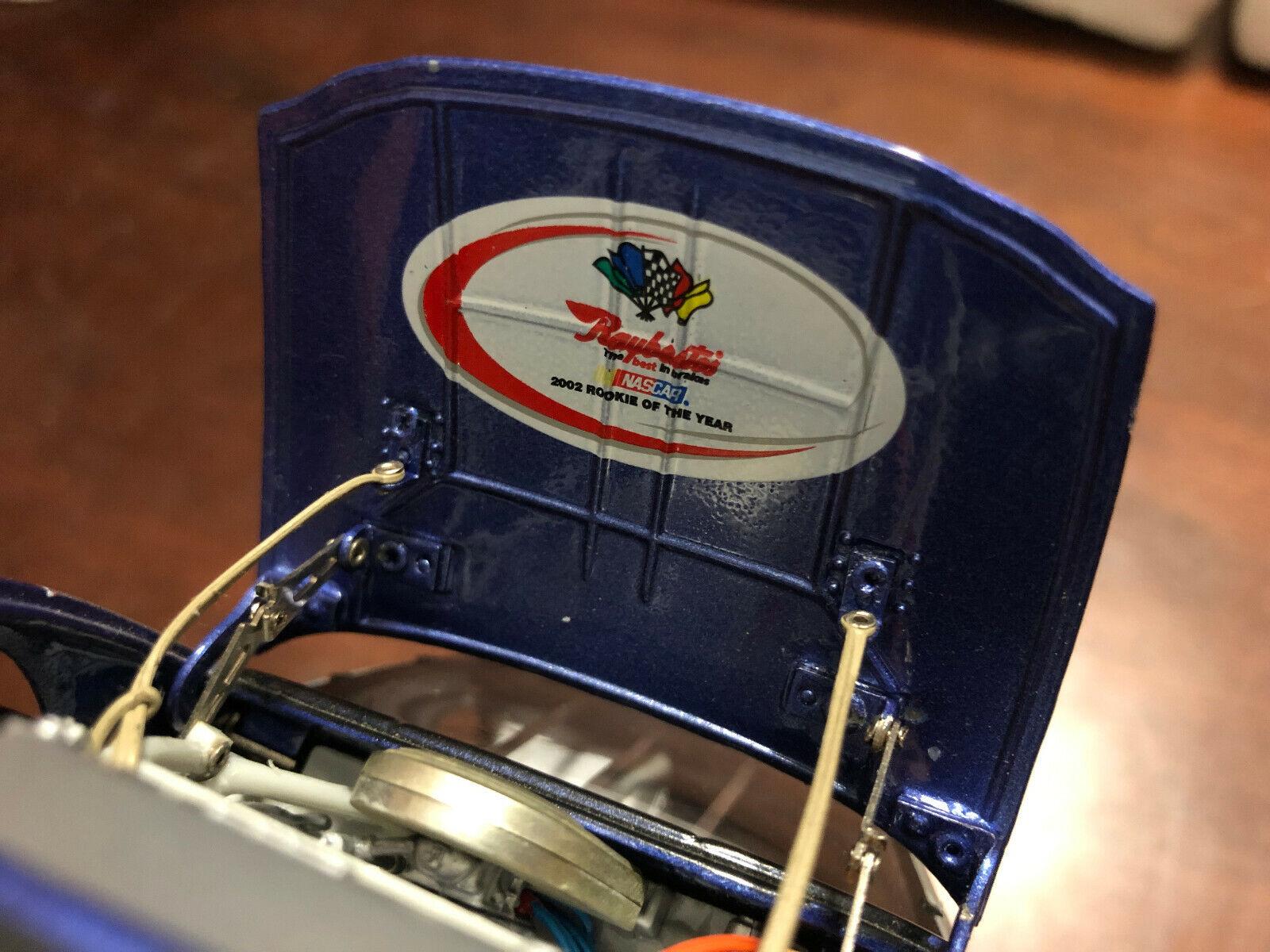 2002 Jimmie Johnson Roy novato del año Lowes DNP Elite projootipo coche Grial Projoo