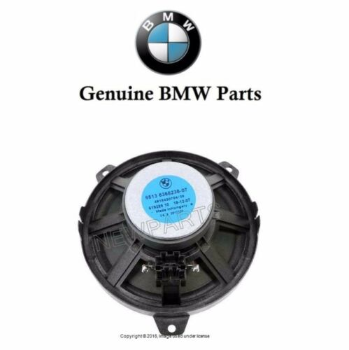 "NEW Front or Rear Speaker Bass Loudspeaker 6.25/"" Genuine For BMW E46 325Ci 330xi"
