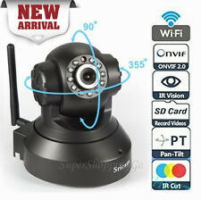 Sricam wireless wifi HD 720p CCTV IP indoor security camera with SD card slot BL