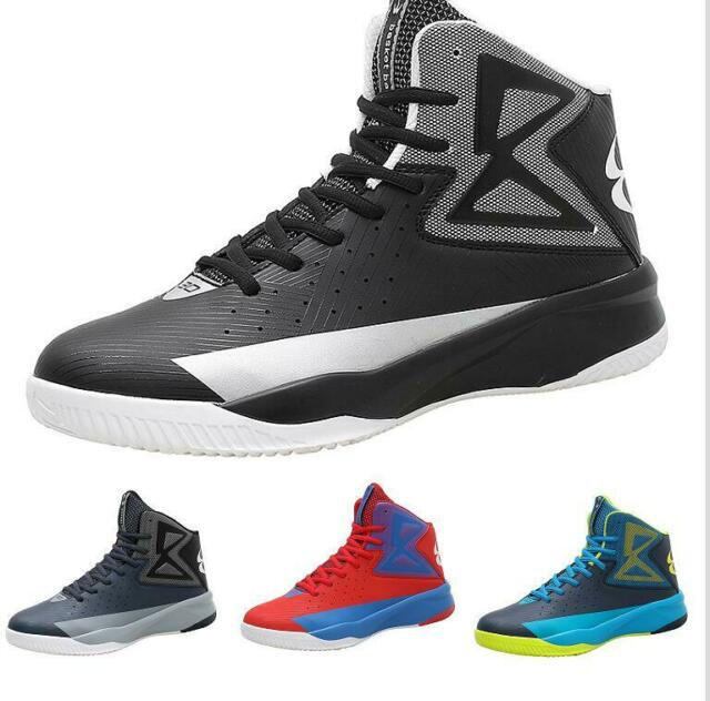 Casuals Shoes Men Basketball Sport Sneaker High Top Athletic Lace-up Breathable