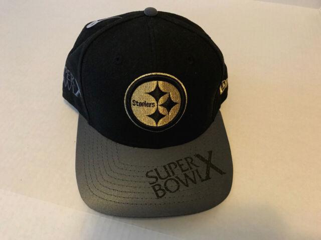 NWT-NEW ERA 9FIFTY~ NFL~PITTSBURGH STEELERS SUPERBOWL X SNAPBACK CAP HAT b95bdcbb9