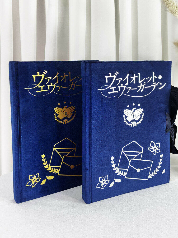 Anime Violet Evergarden Notebook Notepad Diary Student Stationery Holiday Gift