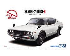 Aoshima 1/24 Nissan KPGC110 1973 Skyline GT-R Kenmeri PLASTIC MODEL KIT 5212
