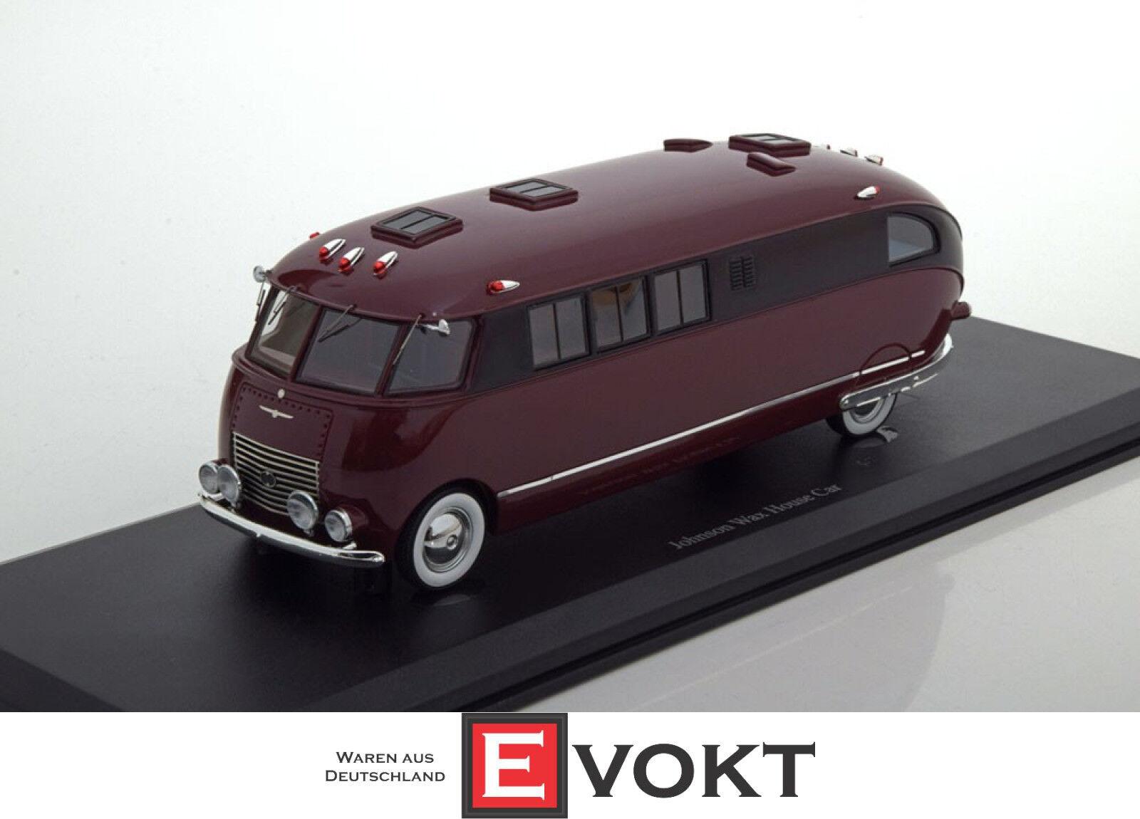 calidad de primera clase Autocult 09005 - Johnson Wax Wax Wax House Car built in 1939 in dark Rojo and Negro  diseñador en linea