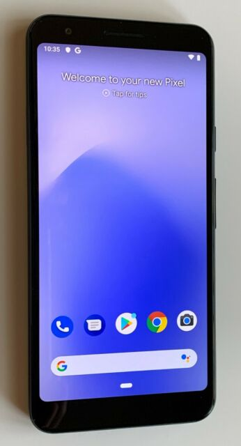 Google Pixel 3A - G020G / G020E - 64GB - BLACK - GSM & CDMA UNLOCKED - VERY GOOD