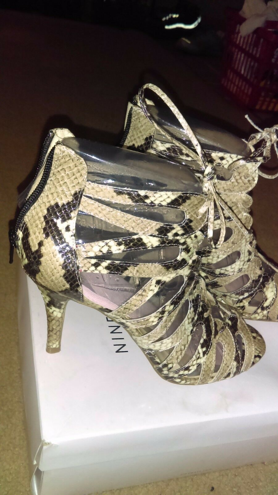 Nine West Ambpinko Dress Sandals Size Size Size 9.5 0aed3f