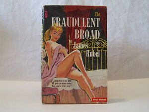 Fraudulent-Broad-by-James-Rubel-Sleaze-GGA-Vintage-Paperback
