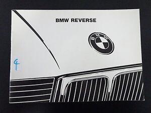 Original-BMW-Autoradio-034-de-034-Bavaria-Reverse-Betriebsanleitung-Handbuch-1993