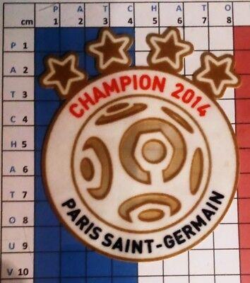 France Patch Badge Ligue 1 maillot de foot du Paris.SG Champion 2015 15//16