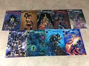 DARKNESS-9-DIFFERENT-COVERS-OF-11-LOT-OF-9-NM-1998-TOP-COW-IMAGE
