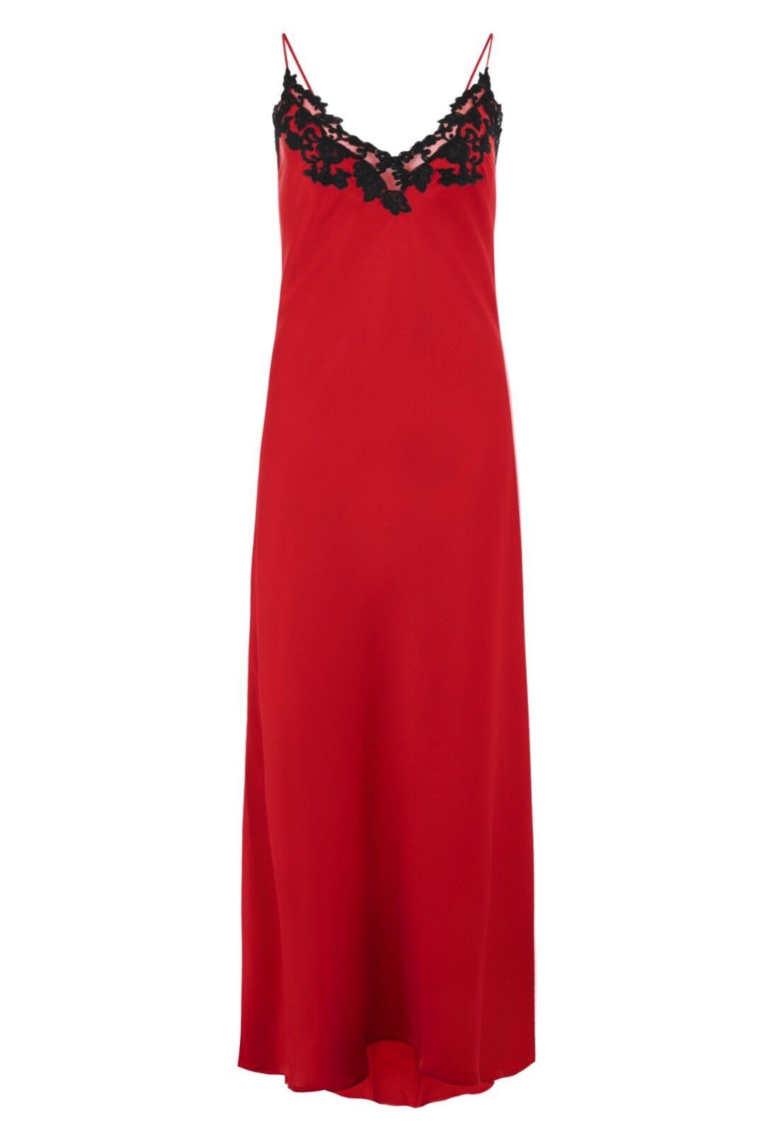 NWT  1084 LA PERLA Silk maison nightgown Size Ita 2, USA S