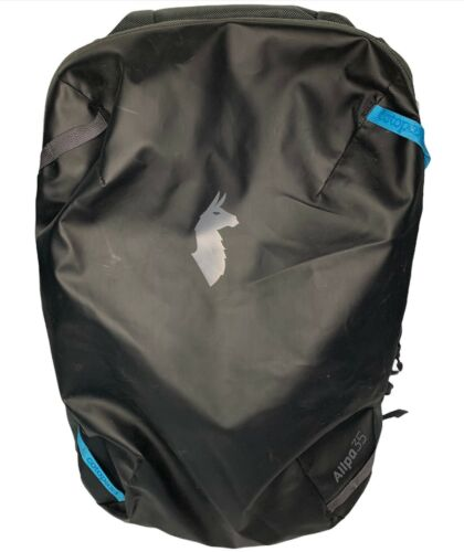 Cotopaxi Allpa 35L Travel Pack - Black with Blue A