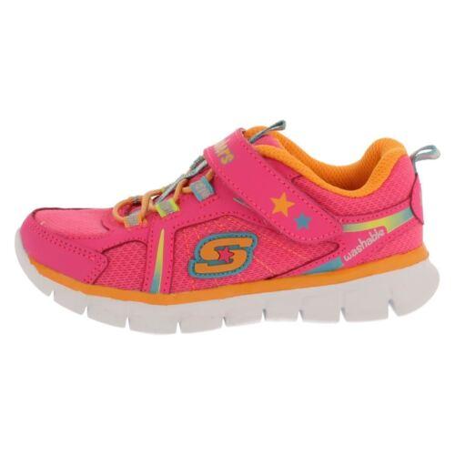 dettaglio di al lavabili Skechers da da rosa Lovecun Scarpe £ ginnastica 00 35 di donna neon xfzP7q