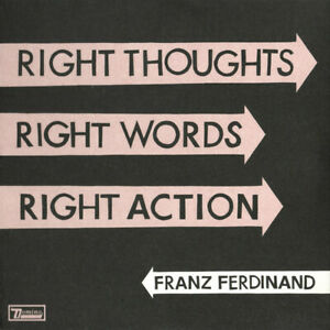 FRANZ-FERDINAND-Right-Thoughts-right-Words-right-Action-Ltd-Edition-2xCD-NEW