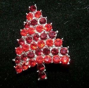 Immagini Natale Usa.Dettagli Su Qualita Usa Austriaca Crystal Albero Di Natale Spilla C98 Mostra Il Titolo Originale