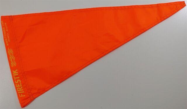 "1//4/""-5//16/"" Sleeve Orange Pennant  Replacement Flag NEW 2 pk"