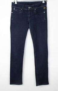 G-STAR RAW Women Ford Straight Leg Stretch Jeans Size W32 L34