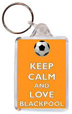 """/""""Keep Calm and Support Hull City/"""" Football Keyring Bottle Opener Birthday Gift"""