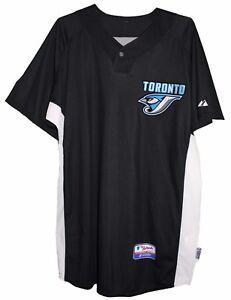 Toronto BLUE JAYS MLB AUTHENTIC MAJESTIC JERSEY Mens Size 46 50