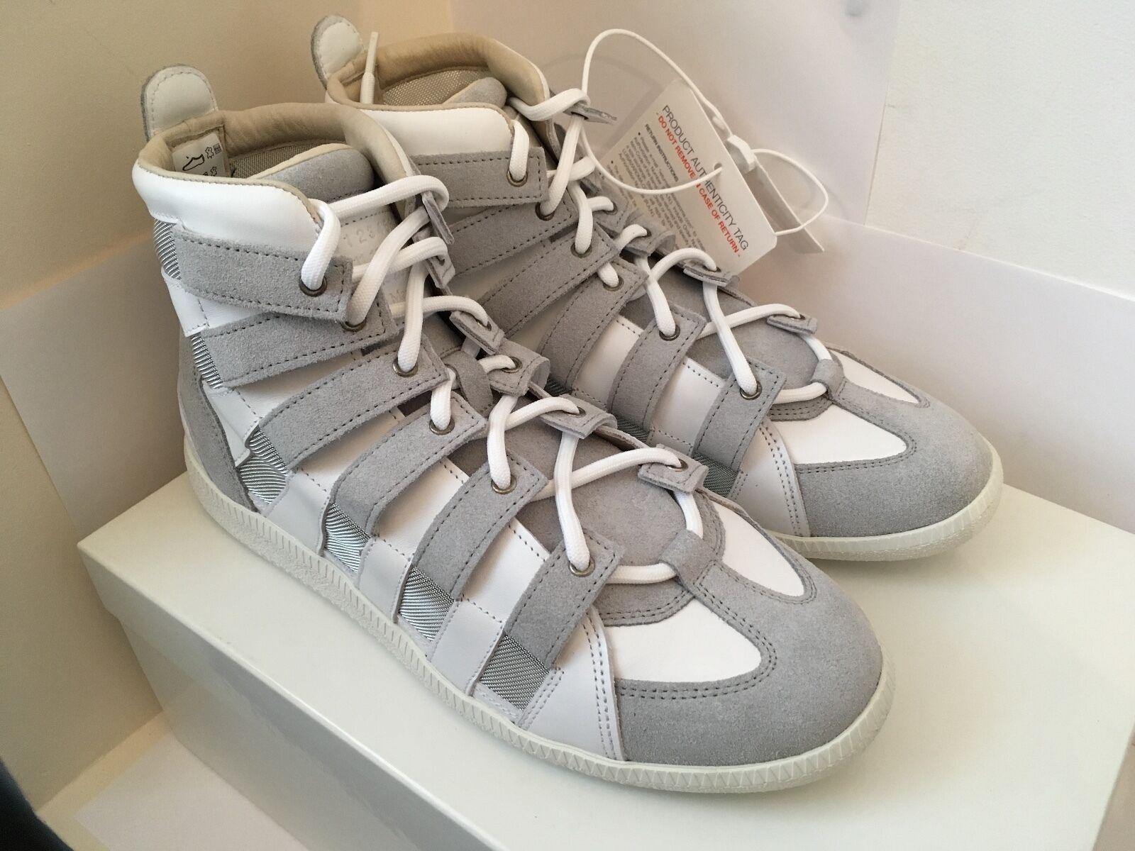 Deadstock Maison Martin Margiela Mesh Stripe High Top Sneakers.....MMM, GAT, CDG