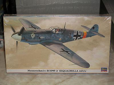 Hasegawa 1/48 Scale Messerschmitt Bf 109F-2 'Esquadrilla Azul' - Factory Sealed