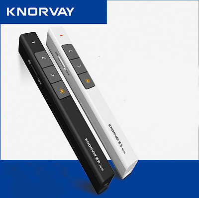Knorvay N35 Wireless2.4G Powerpoint Presentation USB Remote Control Clicker Pen